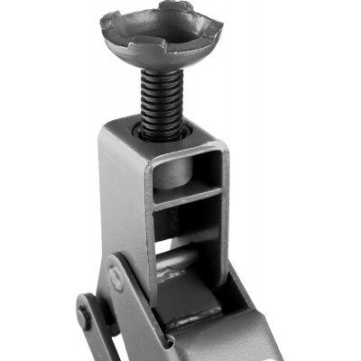 Домкрат гидравлический подкатной T77, 3т, 192-533мм, в кейсе, ЗУБР Профессионал 43055-3-K