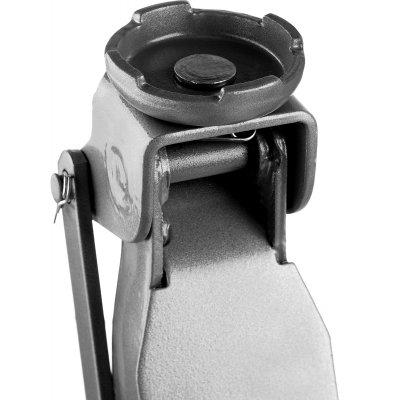 Домкрат гидравлический подкатной T35, 2т, 85-330мм, в кейсе, ЗУБР Профессионал 43056-2-K