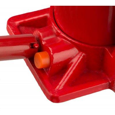 """Домкрат гидравлический бутылочный """"RED FORCE"""", 2т, 181-345 мм, в кейсе, STAYER 43160-2-K"""